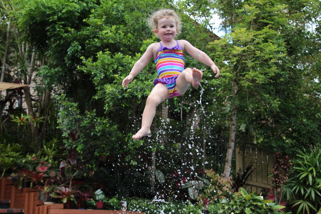 She Flies Through the Air by terryliv