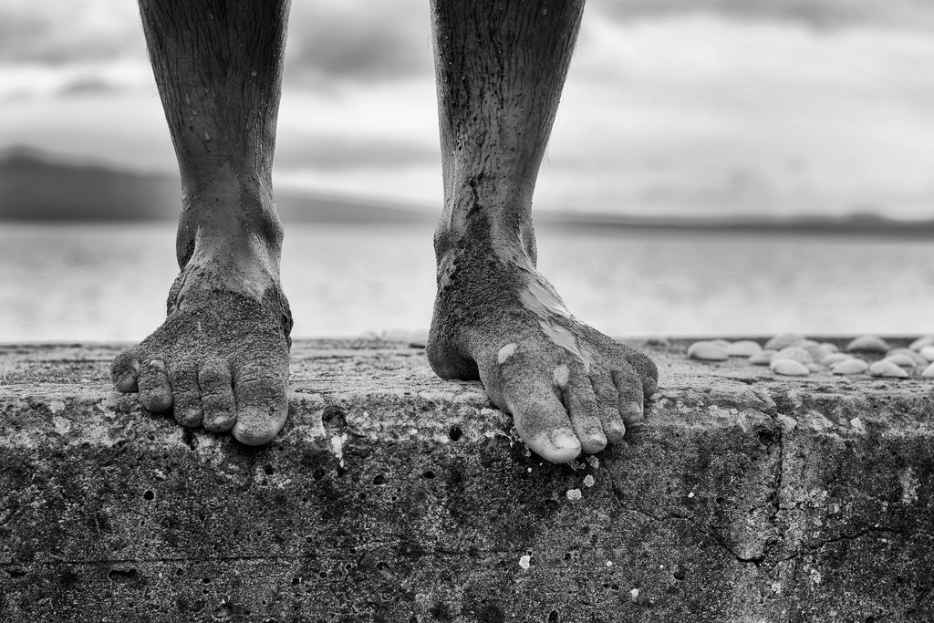 Beach Feet by spanner