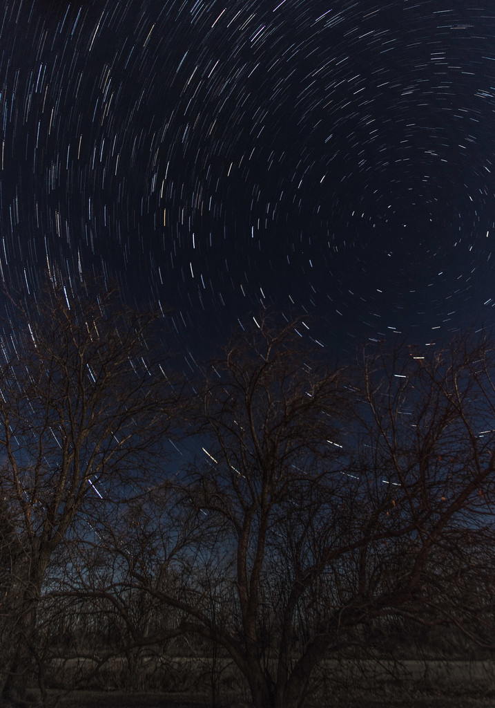 star trails practice by aecasey