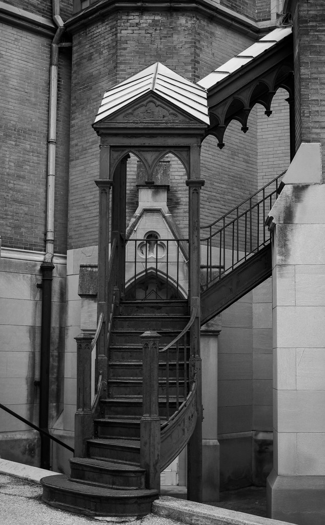 Cathedral Stairs by rosiekerr