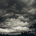 leaden skies