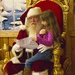 Santa Reading a List and Checking It Twice