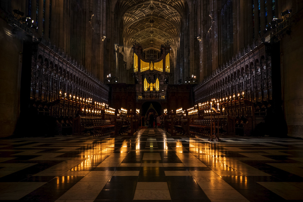 Day 346, Year 2 - King's College Chapel by stevecameras