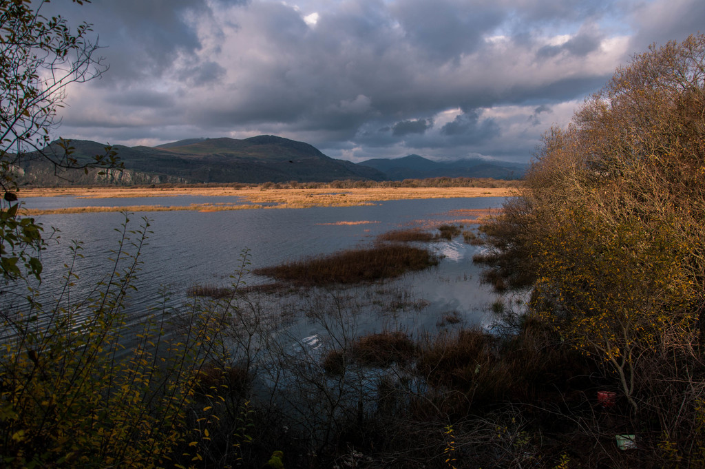 The river Glaslyn by overalvandaan