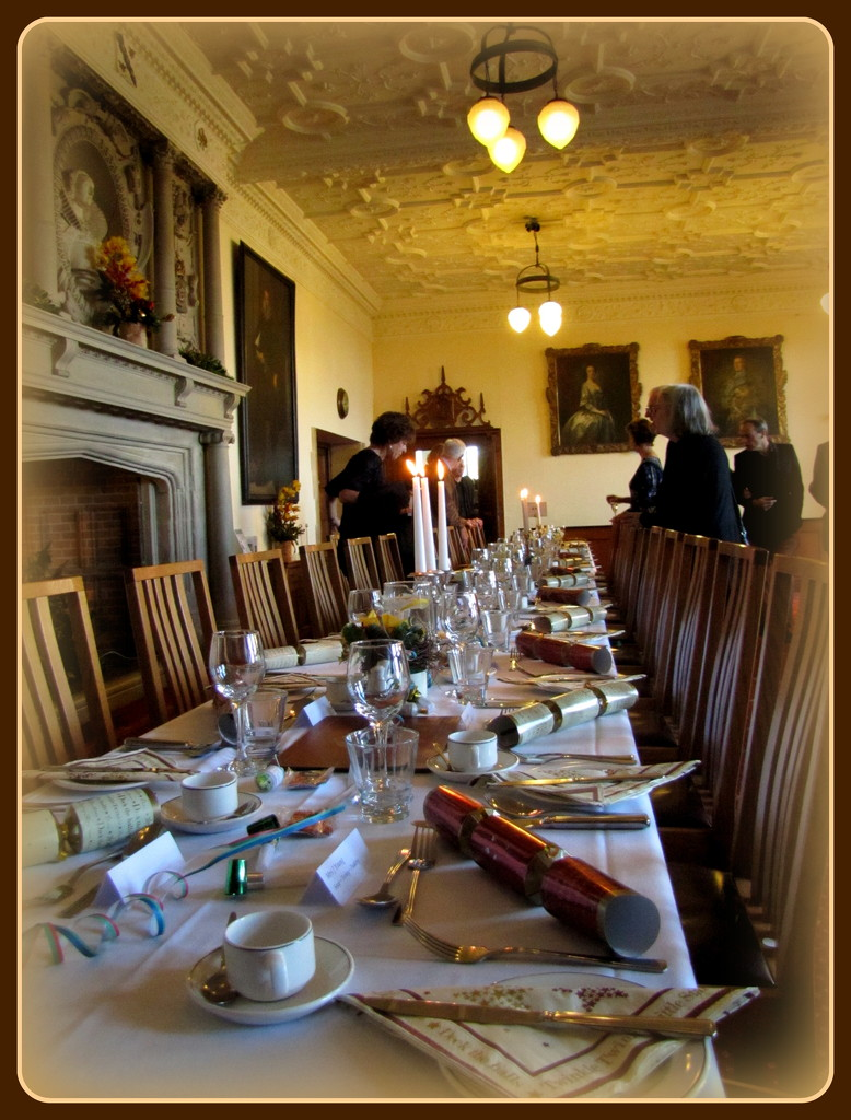 Christmas Lunch at Madingley Hall. by busylady