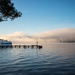 Morning Fog on the Lake by epcello