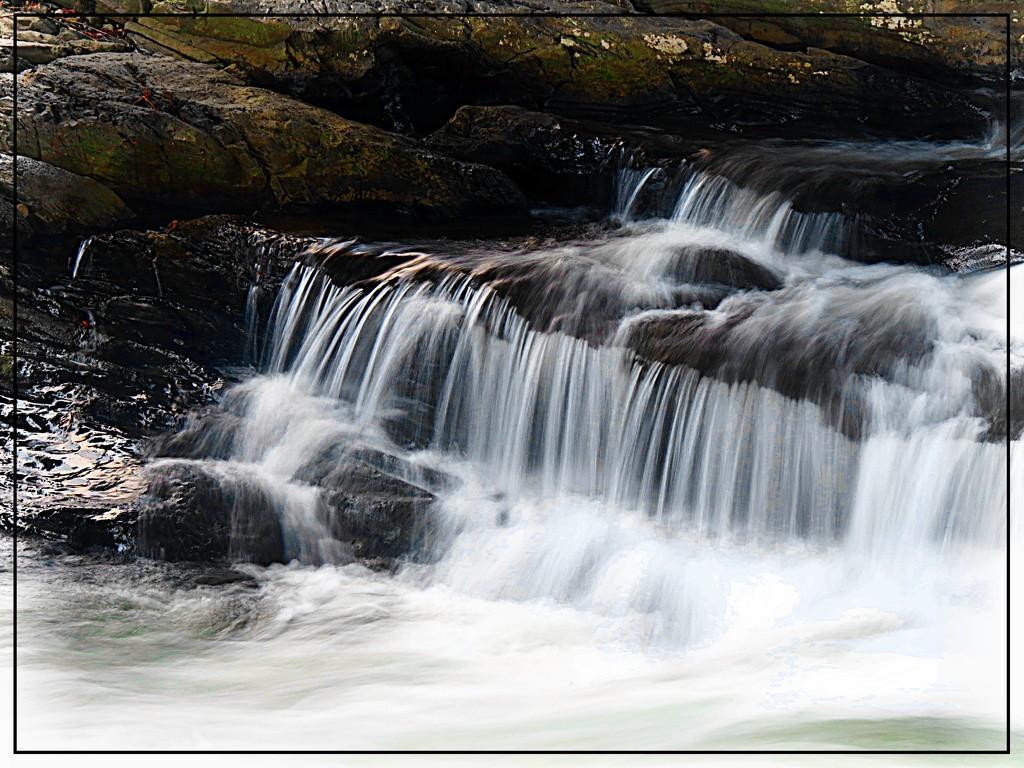 Wintery Waterfalls by olivetreeann