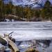 Frozen on Sprague Lake