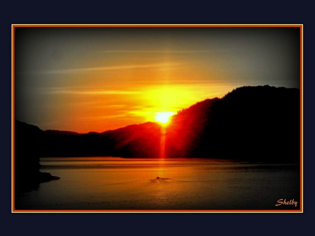 Dramatic Daybreak by vernabeth