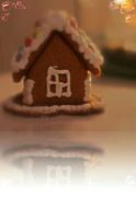 18th Dec 2014 - Litle gingerbread house