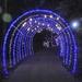 Hanukkah tunnel of lights?