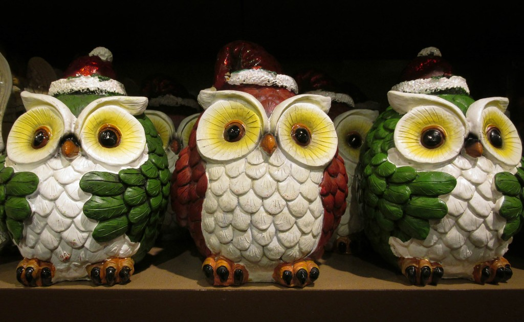 Holiday 21 - Christmas owls by mittens