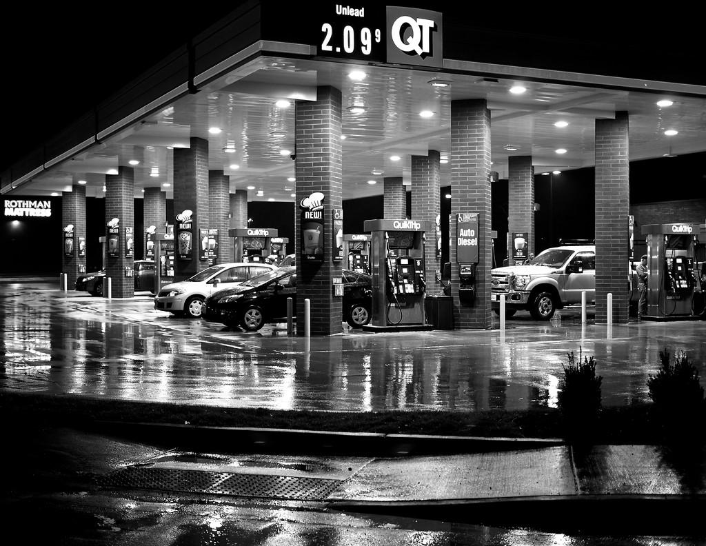 Cheap Gas by rosiekerr