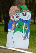 23rd Dec 2014 - Mr and Mrs Snowman