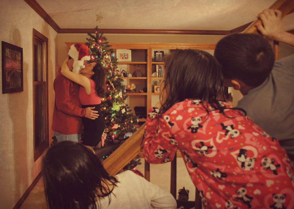 We Saw Mommy Kissing Santa Claus by alophoto