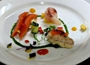 25th Dec 2014 - Entrée: seafood assiette