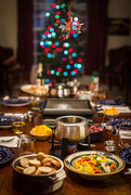 24th Dec 2014 - Raclette, Fondue, Bokeh, and My Firefighter Ornament