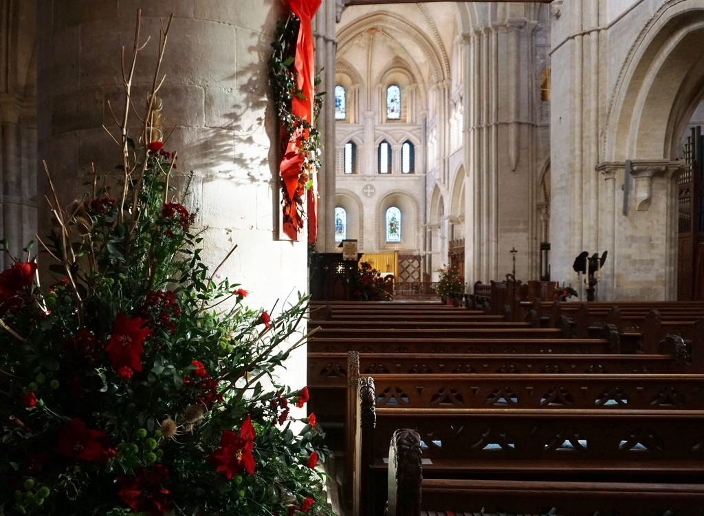 In the Norman church..... by quietpurplehaze