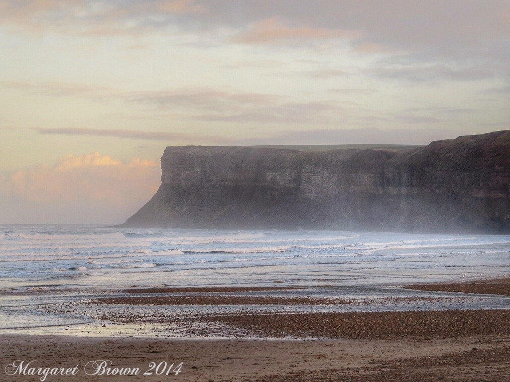 Hunt Cliff on Christmas Day by craftymeg