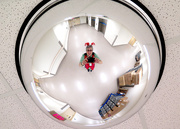 25th Dec 2014 - Christmas selfie at work!