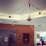 19th Dec 2014 - Lobby decorations in Building 24