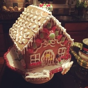20th Dec 2014 - My niece's Gingerbread house