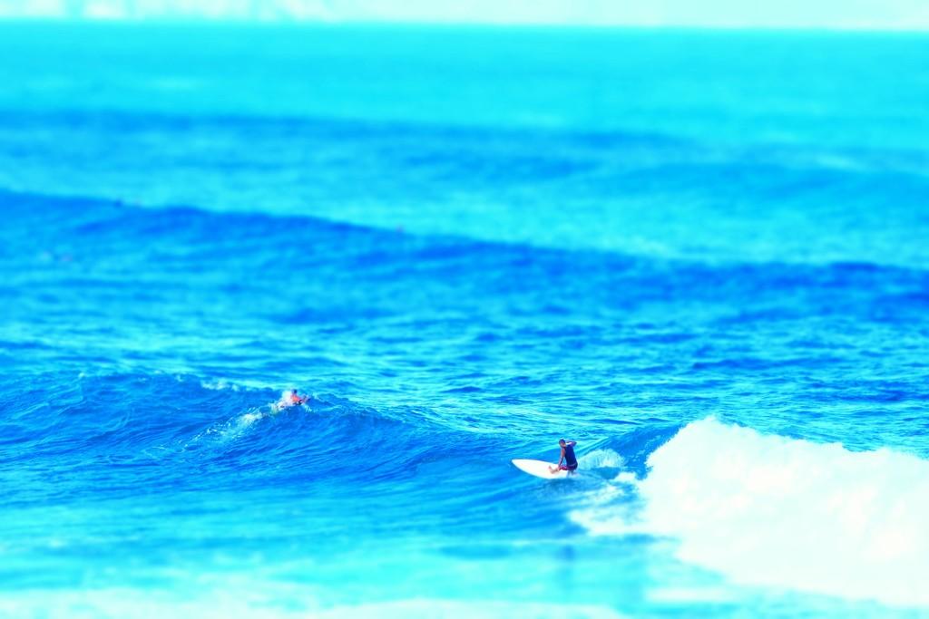 Surf in Hawai. by cocobella
