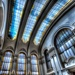 Great Hall of the Biblioteca Nacional de Chile by taffy