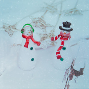 27th Dec 2014 - Snowmen