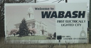 27th Dec 2014 - This little Indiana Town, claims to be the first electrically lighted city