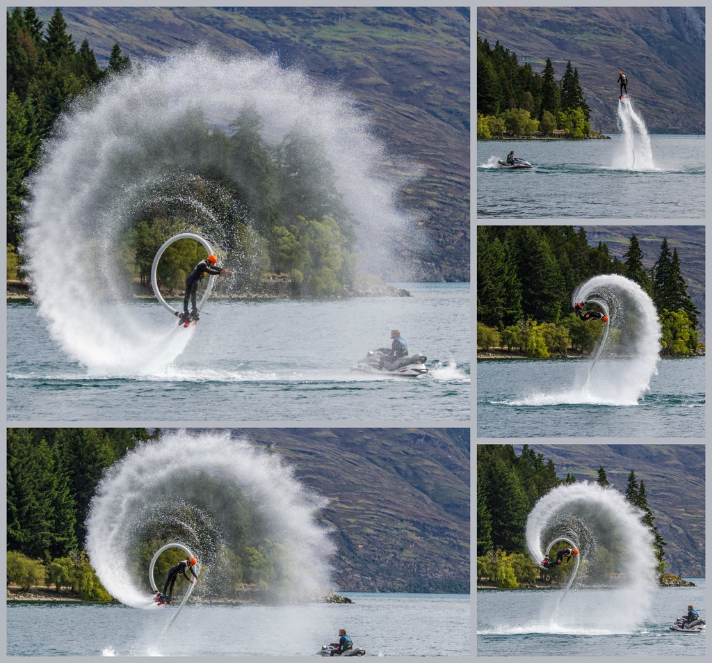 Water rockets boots performance by gosia