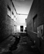 29th Dec 2014 - Laneway with supermarket trolley