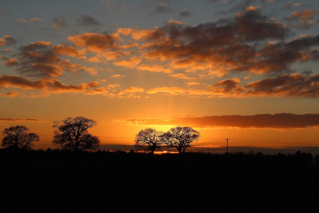 Trimley sunset by lellie