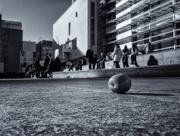 30th Dec 2014 - Lonely mandarine chasing contemporary art spaces