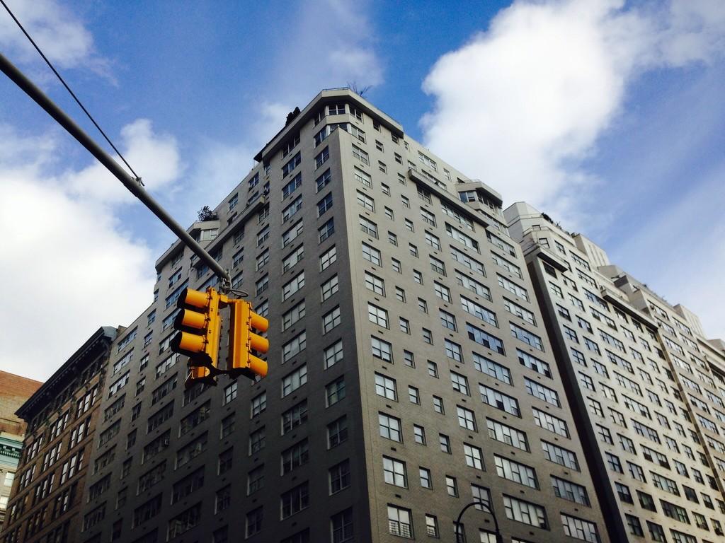 Blue Sky NYC by sarahabrahamse