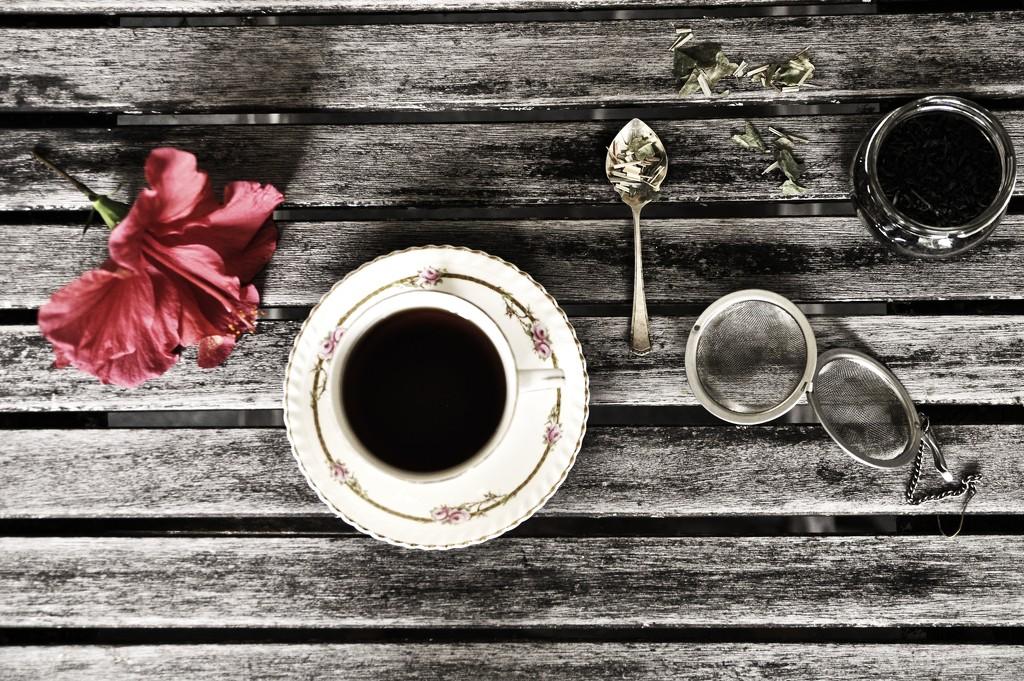 Tea still life  by brigette