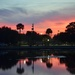 Colonial Lake sunset, Charleston, SC by congaree