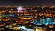 31st Dec 2014 - Viewing Chicago Neighborhoods' Fireworks