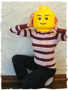 2nd Jan 2015 - I'd Better not Lego my Head!!