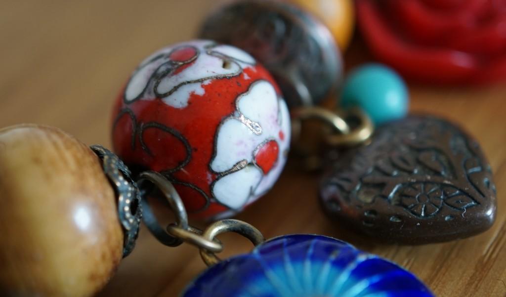 Indian beads - the last shot in my recent macro practice by quietpurplehaze