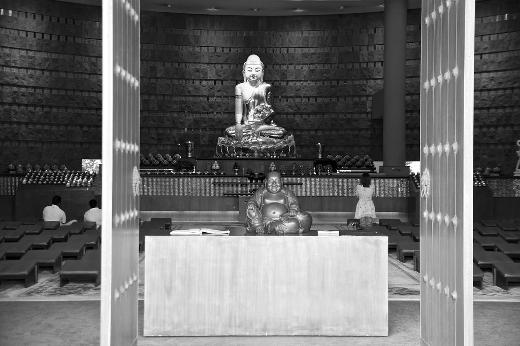 Shrine in black and white by brigette