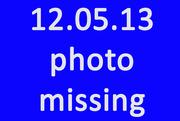 5th Dec 2013 - Missing Photo