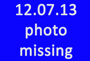 7th Dec 2013 - Missing Photo