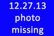 27th Dec 2013 - Missing Photo