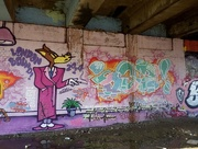 "7th Jan 2015 - Jan 08: Graffiti ""Wolf"""