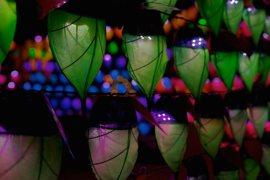 Layers of Colored Lanterns by jyokota