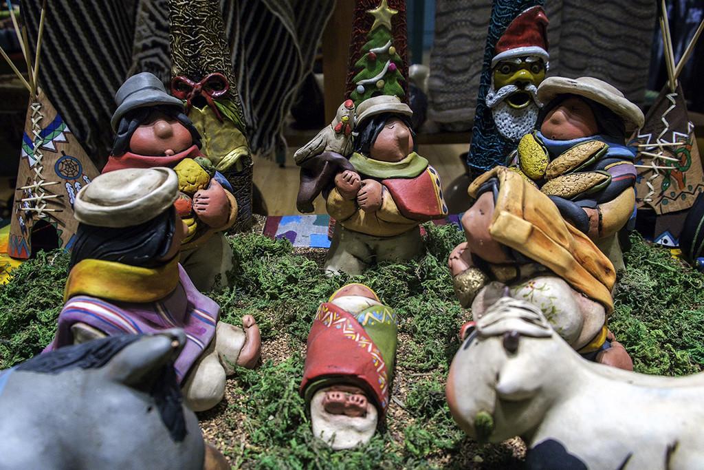 Inca Nativity Scene by jborrases