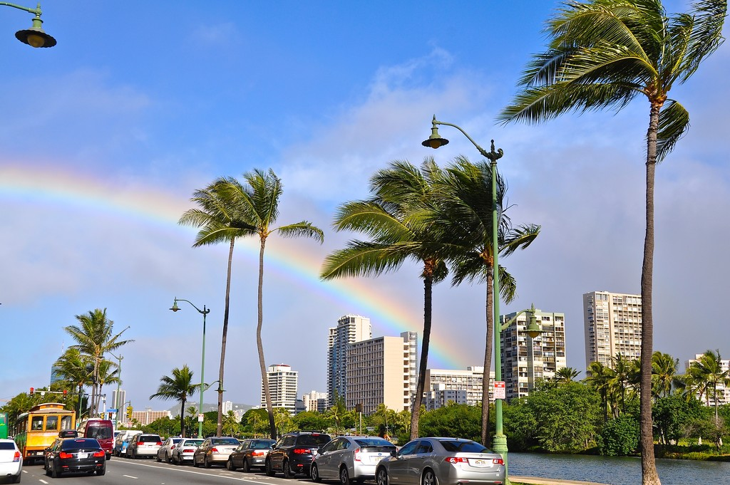 the reason why the rainbow is one of the symbol of Hawaii..... by cocobella