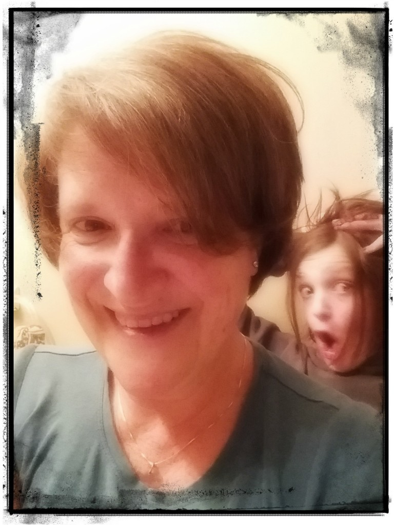 Last Thursday of this Half Century Requires Having My Hair Did and a Nutty Kid on the Side by darylo