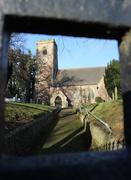16th Jan 2015 - Through the church gate